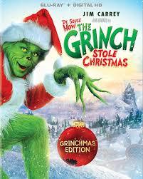 amazon com dr seuss u0027 how the grinch stole christmas blu ray