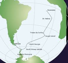 ascension islands map ascension island cruises travel to ascension island