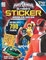 brand dalmatian press power rangers ultimate sticker book