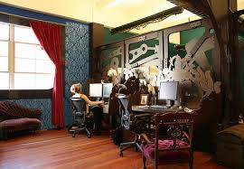 Interior Design Cheap by Creative Steampunk Office Design On The Cheap