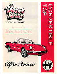 alfa romeo manuals at books4cars com