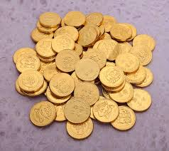 new year gold coins new year chocolate coins 12 coins arts crafts
