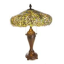 hsn tiffany style lighting dale tiffany laburnum tiffany style table l 8597765 hsn