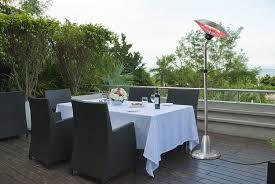 patio table with heater amazon com az patio heaters electric heater adjustable free