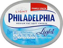 philadelphia light cream cheese spread philadelphia light soft cheese 280g compare prices buy online