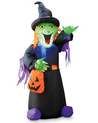 halloween inflatable halloween inflatable witch aldi uk