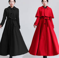 ladies full length wool winter coats fashion women u0027s coat 2017