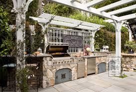 Outdoor Cooking Area Victorian Storybook Lenkin Design
