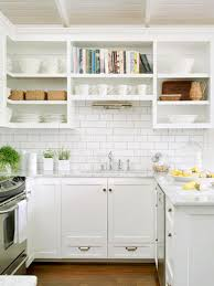 Kitchen Backsplash Ideas Subway Tiles Cabinet Drawers And Sinks - White subway tile backsplash ideas