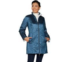 Plus Size Quilted Barn Jacket Coats U0026 Jackets U2014 Coats U2014 Fashion U2014 Qvc Com