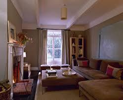 brown modern family room living room design ideas lonny