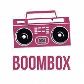 ghetto blaster boombox sketch vector u0026 photo bigstock