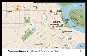 Map Of Downtown Austin by Beaumont Maps U0026 Transportation Taxis Car Rentals U0026 Buses