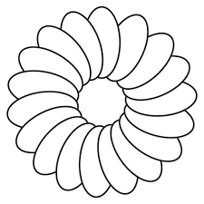 free printable marigolds flowers coloring pages kids printable