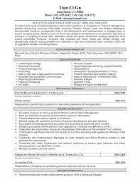 exle resume cover letters cover letter exles of accounts payable resumes free partsk resume