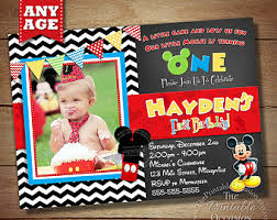 100 mickey mouse invitation template mickey mouse