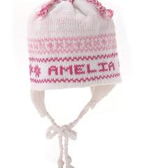 personalized knit hat s from heaven