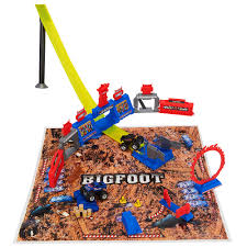 original bigfoot monster truck toy fast lane bigfoot super stunt stadium playset toys r us toys