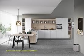cuisine gris et la cuisine s habille de gris nouveau photos de cuisine bois et blanc