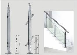 Stainless Steel Banister Glass Railing System Manufacturer From Chennai