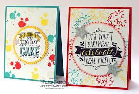 big birthday cards big day sale a bration birthday card patty s sting spot