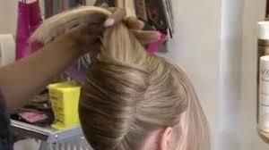 fan and sock bun hair tutorial video dailymotion bridal juda hairstyle dailymotion fade haircut