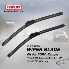 ford ranger wiper blades wiper blade for ford ranger 2011 onwards 1set 24 16 flat aero