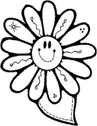 flower printouts coloring