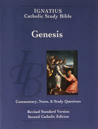 ignatius catholic study bible book of genesis scott hahn curtis