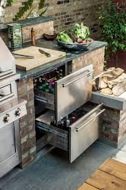 diy outdoor kitchen ideas best 25 diy outdoor kitchen ideas on grill station