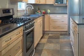 porcelain tile that looks like slate kitchen contemporary with