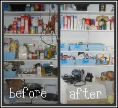 Before And After Organizing by Zucchini Summer 0 Pantry Organization