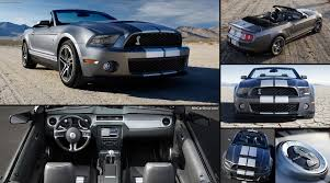 mustang shelby gt500 convertible ford mustang shelby gt500 convertible 2010 pictures