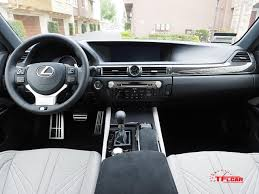 lexus gsf interior 2016 lexus gs f the track car you u0027ll never take to the track