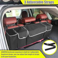 lexus rc backseat amazon com gampro car backseat and trunk organizer 30l large