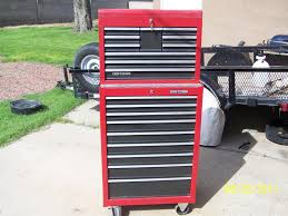 Tool Box Dresser Ideas by Craftsman Tool Cabinet Image Of Craftsman Tool Storage Chest