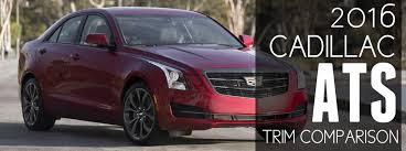 cadillac ats engine options 2016 cadillac ats trim level comparison