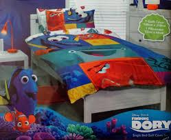 finding nemo bedroom set disney finding dory and nemo kids single duvet doona quilt cover set