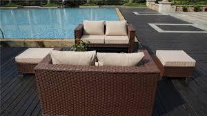 Yakoe Garden Furniture Papaver 8 Seater Brown Cube Dining Set Rattan Garden Furniture