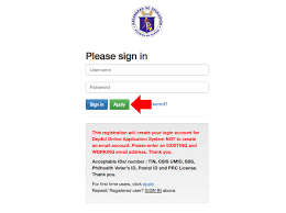 how to register on deped online application system and update pds