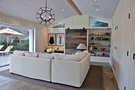 light stained concrete floors living room