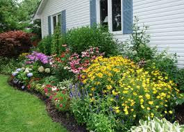 lawn u0026 garden modest small flower beds designs top design ideas