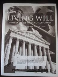 Medical And Financial Power Of Attorney Forms by Living Will Kit Do It Yourself Valid In All 50 States Timothy J