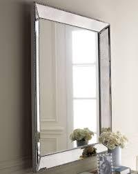 Silver Bathroom Vanity Bathrooms Silver Gray Walls Beveled Mirror White Bathroom Vanity