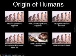 Origin Of Meme - origin of humans by almeida meme center