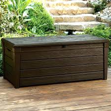 Waterproof Patio Storage Bench by Outdoor Storage Bench Seat Perth Small Garden Storage Bench
