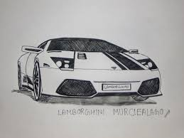 lamborghini sketch lamborghini murcielago drawing pen sketch youtube