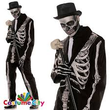 Skeleton Costume Halloween 65 Halloween Mens Fancy Dress Costumes Images