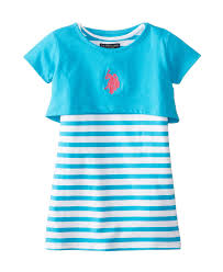 u s polo assn solid and stripe twofer toddler