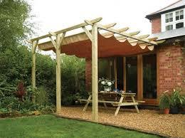 outdoor wooden pergola with retractable roofing outdoor pergola